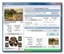 EVJO Software - EvJO Photo-Image Resizer+Converter Pro